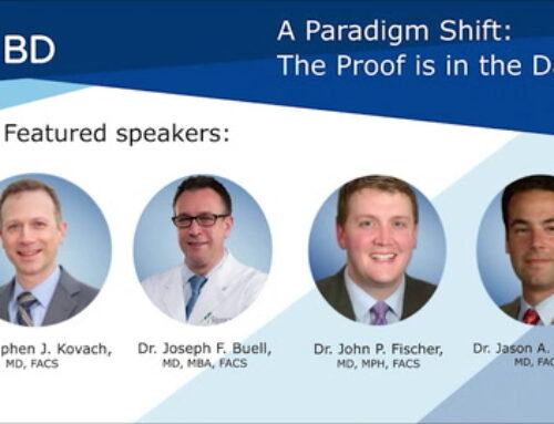 A Paradigm Shift: The Proof is in the data Post